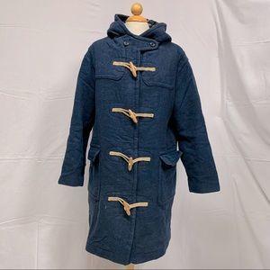 Keds blue wool Duffle coat